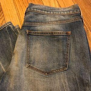 J CREW Distressed Heath Wash Boyfriend Jeans Sz 29